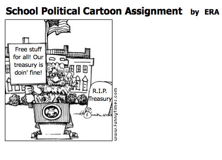 Political cartoon assignment