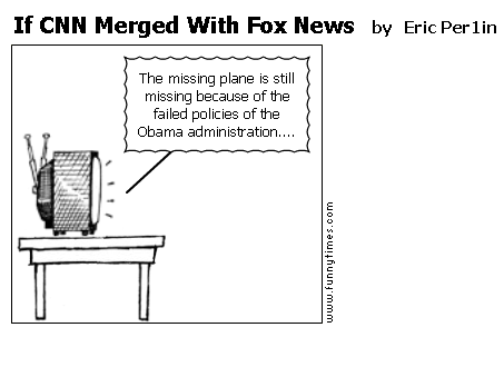 If CNN Merged With Fox News by Eric Per1in