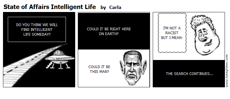 State of Affairs Intelligent Life by Carla