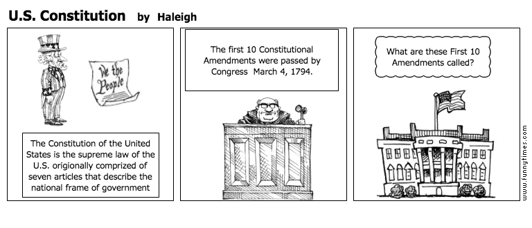 U.S. Constitution by Haleigh
