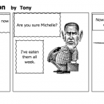 Funny Obama Cartoon