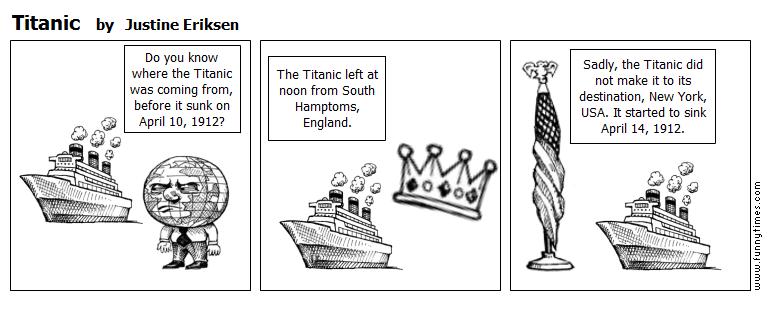 Titanic by Justine Eriksen