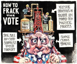 Wuerker - Frack the Vote