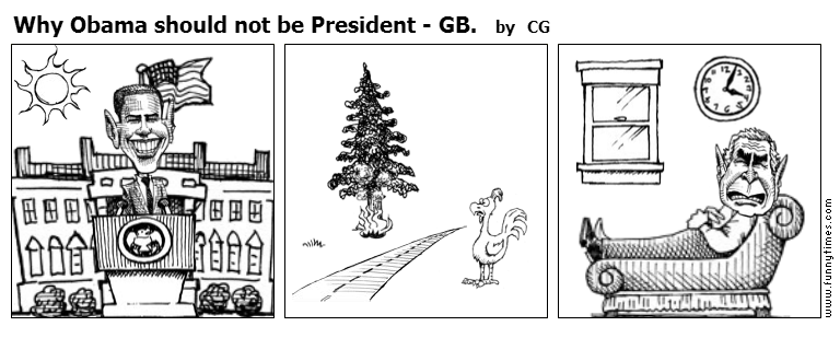 Why Obama should not be President - GB. by CG