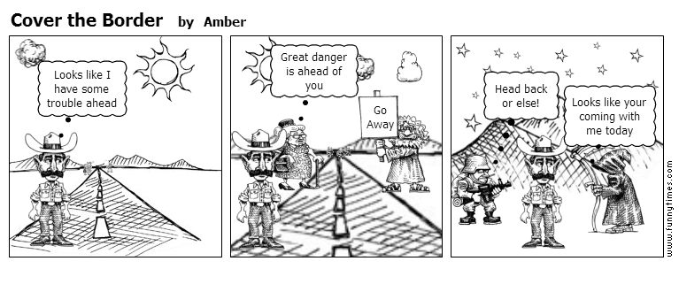 Cover the Border by Amber