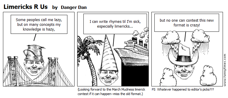 Limericks R Us by Danger Dan