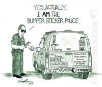 Cohen - Bumper Sticker Police