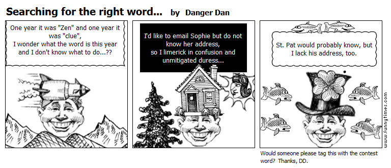 Searching for the right word... by Danger Dan