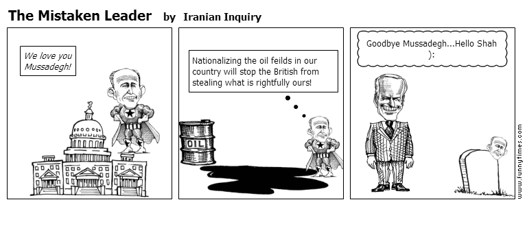 The Mistaken Leader by Iranian Inquiry