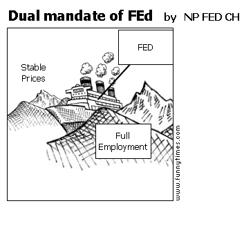 Dual mandate of FEd by NP FED CH