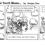 Limerick The Human Torch Blues…