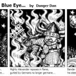 Limerick His Steely Blue Eye…