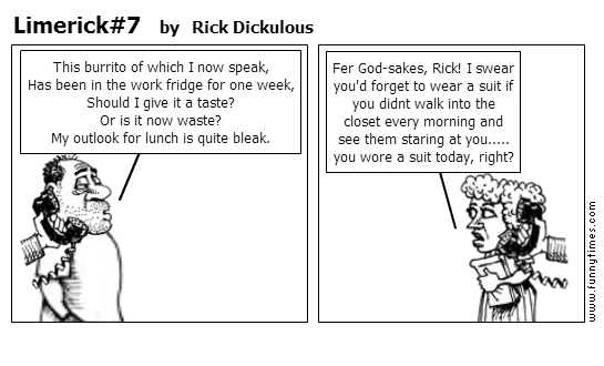 Limerick7 by Rick Dickulous