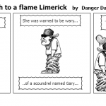 Limerick Like a moth to a flame Limerick