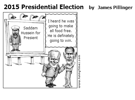 2015 Presidential Election by James Pillinger
