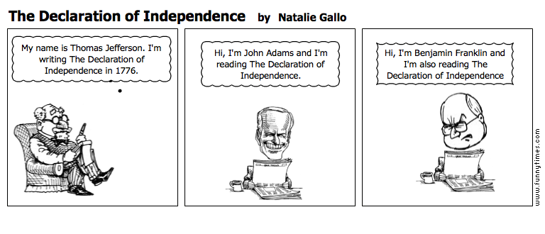 The Declaration of Independence by Natalie Gallo