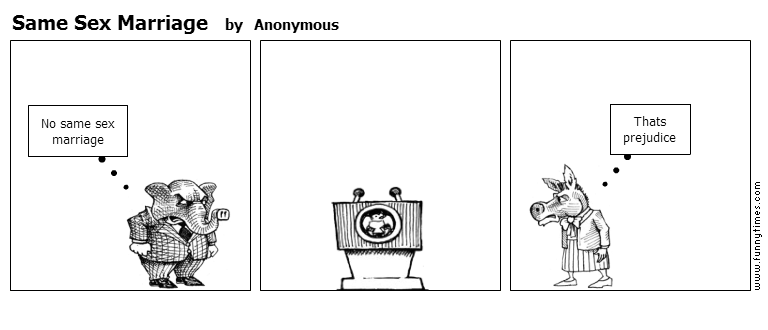 Same Sex Marriage by Anonymous