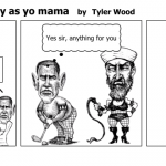 Obama bout as manly as yo mama