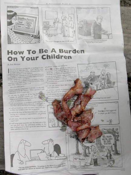 FT Holds the Bacon