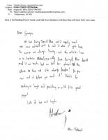Letter from Grandchildren