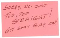 Too Straight