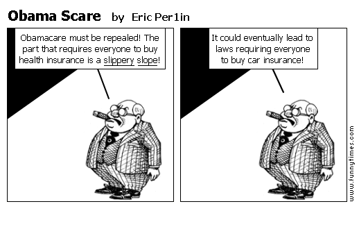Obama Scare by Eric Per1in