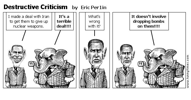 Destructive Criticism by Eric Per1in