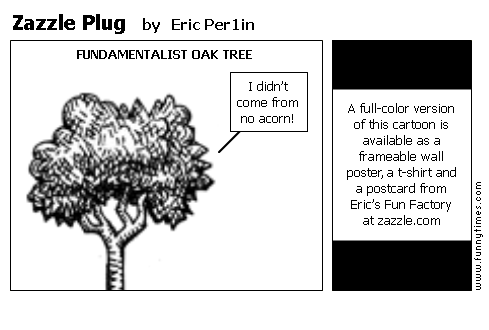 Zazzle Plug by Eric Per1in