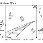 Lost in a desert