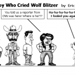 The Boy Who Cried Wolf Blitzer