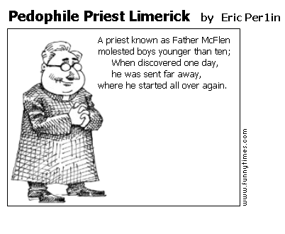 Pedophile Priest Limerick by Eric Per1in