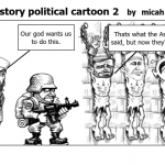 world history political cartoon 2