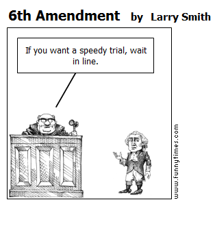 6th Amendment by Larry Smith