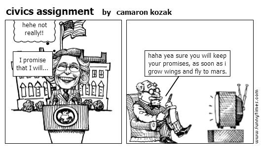 civics assignment by camaron kozak