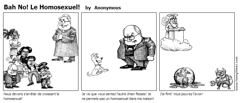 Bah No Le Homosexuel by Anonymous