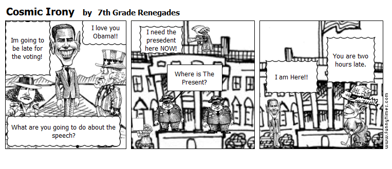 Cosmic Irony by 7th Grade Renegades
