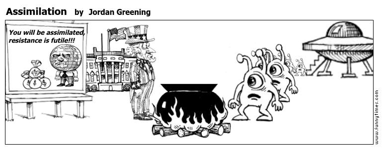 Assimilation by Jordan Greening