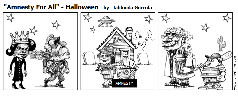 """Amnesty For All"" - Halloween by Jahlonda Gurrola"