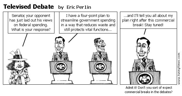 Televised Debate by Eric Per1in