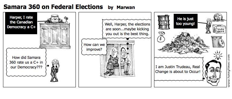 Samara 360 on Federal Elections by Marwan