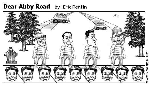 Dear Abby Road by Eric Per1in