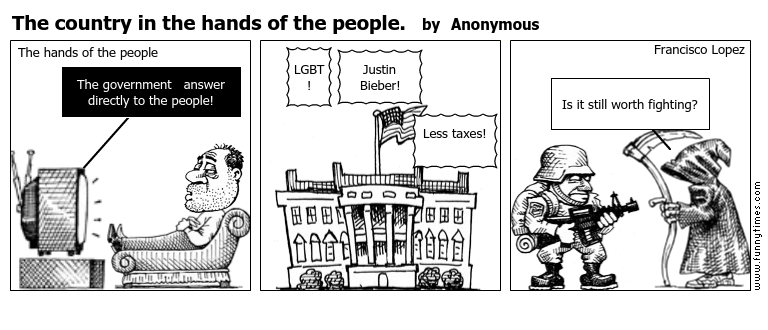 The country in the hands of the people. by Anonymous