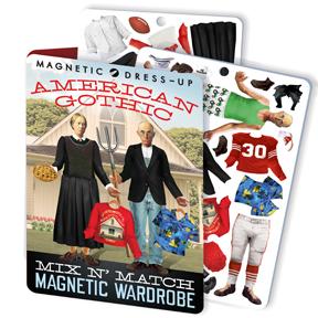 American Gothic Magnet Set