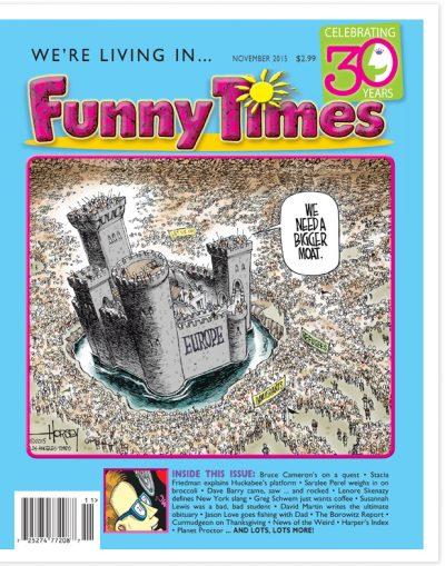 November 2015 Issue Cover