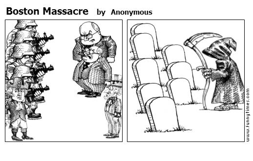Boston Massacre by Anonymous