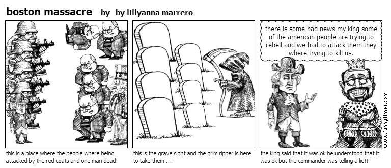 boston massacre by by lillyanna marrero