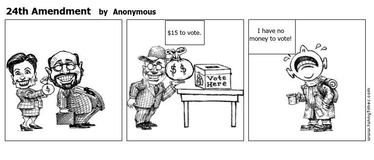 24th Amendment by Anonymous