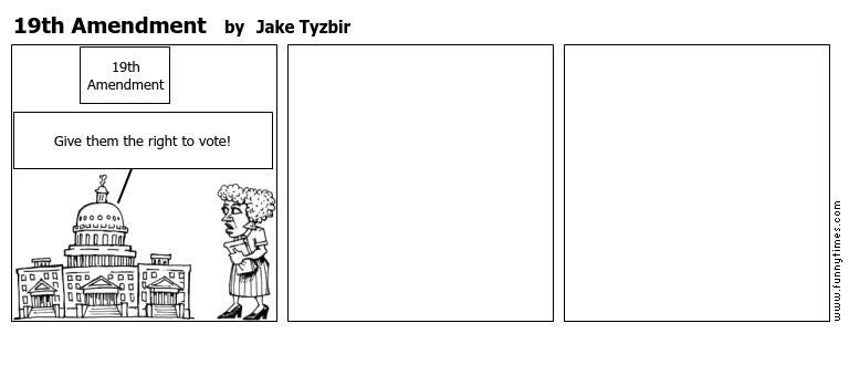 19th Amendment by Jake Tyzbir