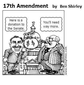 impact of the 17th amendment The 16th amendment gives the federal government the right to collect income tax prior to the ratification of this amendment, the us supreme court found a federal income tax unconstitutional in.