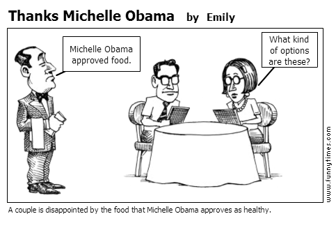 Thanks Michelle Obama by Emily